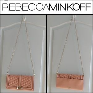 Worn Once REBECCA MINKOFF Clutch/Crossbody